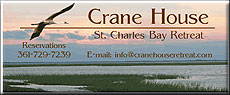 Crane House Retreat in Rockport, TX