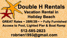 Double H Vacation Rentals in Holiday Beach, TX