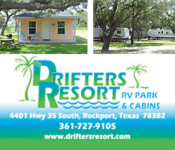 Drifters Resort in Rockport, TX