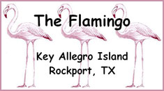 The Flamingo Vacation Rental Home in Rockport, TX