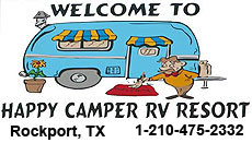 Happy Camper RV Resort in Rockport, TX