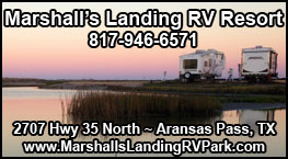 Marshalls Landing RV Resort in Aransas Pass, TX