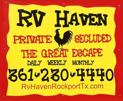 RV Haven in Aransas Pass, TX