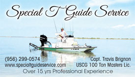Special T Fishing Guide in Rockport, TX