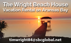 Wright Beach House Vacation Rental in Rockport, TX
